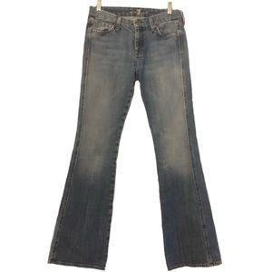 7 For All Mankind Wide Leg Flare Jeans Vintage